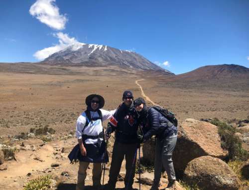 Climbing Mt. Kilimanjaro During an International Pandemic