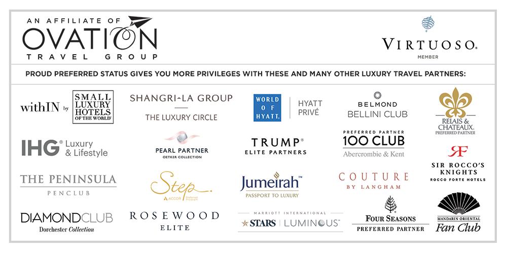 Luxury Travel Partner Brands
